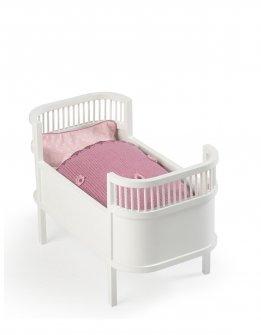 DUKKE SENG. Dukken skal have et sted at sove, der er flere forskellige modeller at vælge imellem.