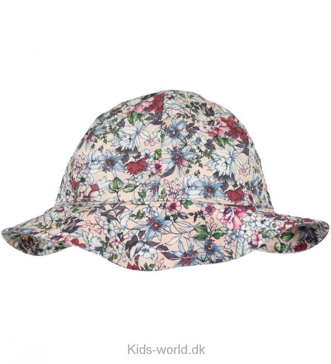 Krutter Sommerhat - Rosa - Blomster, blomster, blomster, vi elsker blomster og se lige hvor fin denne hat er. Vi er vilde med den!