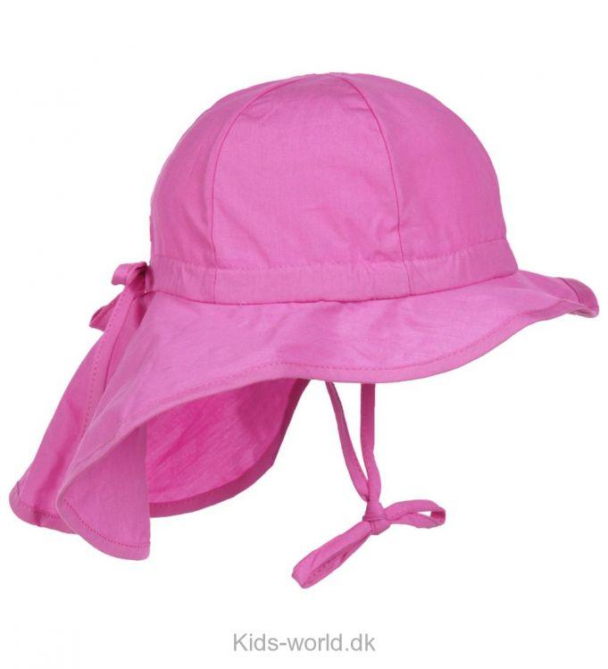 Melton Legionærhat - Lækker pink sommerhat fra Melton med bindebånd. Legionærhatten har en lille skygge foran og en lang skygge bagtil, også er vi vilde med farven.
