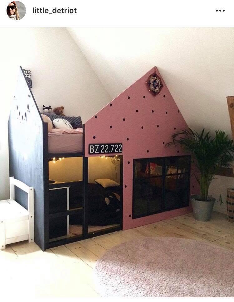 Denne seng må være enhver piges drøm - vi er i hvert fald vilde med den!