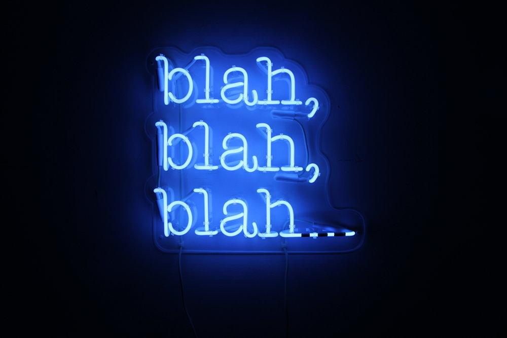 McGonagle_blah, blah, blah_neon.jpg