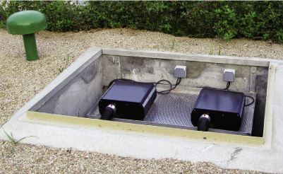 Custom solutions for installations indoor & outdoor, up to 50m from the light points