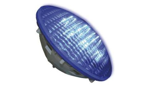 LLU200   LLU210 - AdLed PAR 56 12V AC pool lamp. Built in electronic circuit with programsin RGB models for color change and sequences. For pools indoor andoutdoor, spas and artificial lakes. IP68.27 Luxeon   60W   12v AC  Mono-Colour / RGB   Lumen 1215 / 1116