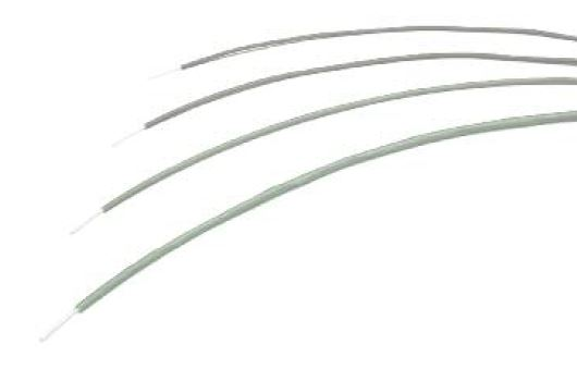 HCF - Clad Fiber Optic Spools - High performance clad fibers (PMMA) from Ø1mm to 3mm. Fordecorative and lighting applications where mechanical protection orfire retarding is desired. Polyolefine HFFR cladding.