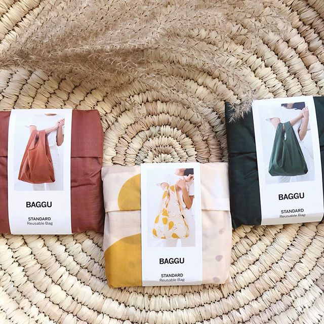 New year, less waste 〰️ Our @baggu reusable bags are the easiest place to start!