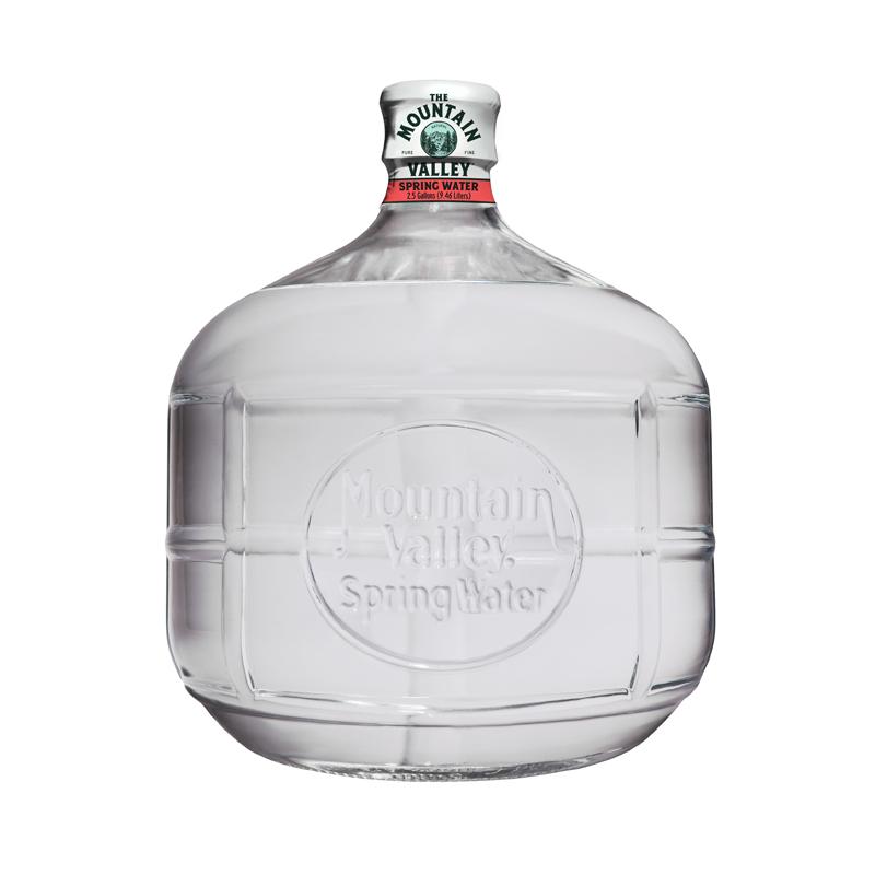 2.5 Gallon Spring Water $16.50 ea.  Each bottle has an initial $15.00 deposit
