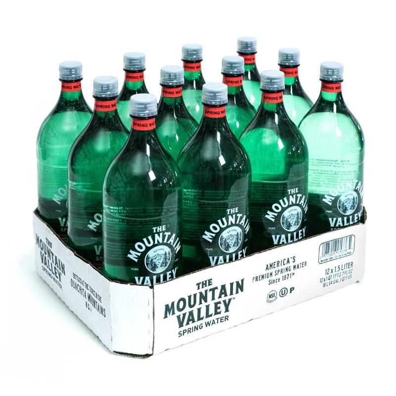 1.5L Plastic Bottle, BPA-free, $21.00