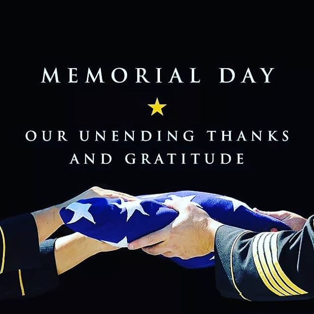 Wishing everyone a safe & Happy Memorial Day! #landofthefree #usa #freedom #thankyouforyourservice #america #redwhiteandblue #memorialday