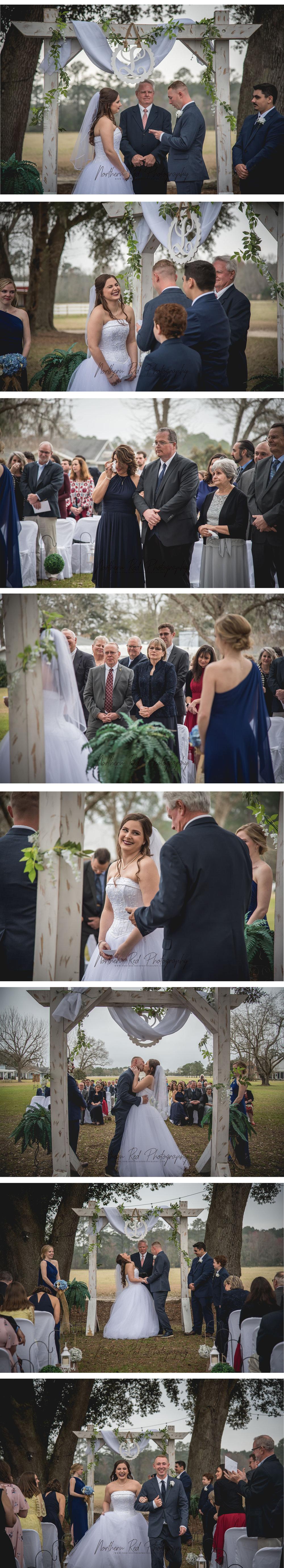 South Carolina Wedding Photographer | Northern Red Photography