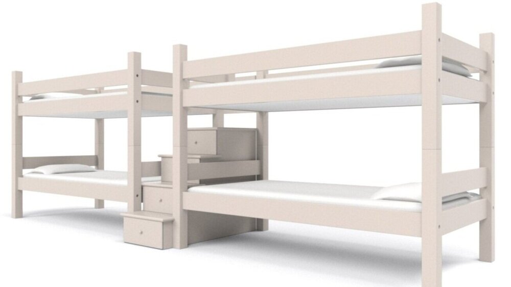Picture of: Foreside Quadruple Bunk