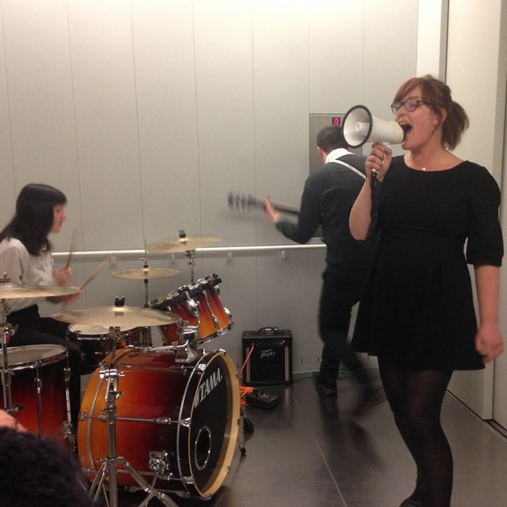 Lift Music, 2015 - A gig in the lift of the Turner Contemporary.