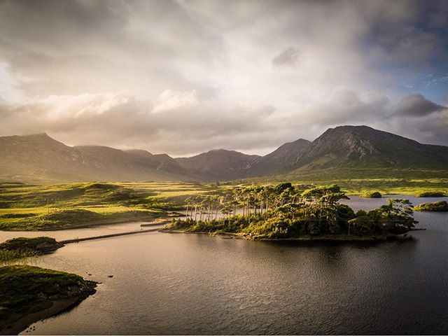 Possibly one of the most photographed little islands in all of the country but nonetheless a really stunning part of Connemara 👌🏻 this was my take on it, with some nice sidelight I decided to use the drone for my shot of Pine Island on Derryclare Lough. . . Dji Mavic Pro . . #jaw_dropping_shots  #sky_sultans  #dronephotography  #djimavicpro  #mavicpro  #ireland_gram  #ig_ireland  #global_shotz  #thefullirish_  #nature_brilliance  #tree_brilliance  #tree_captures  #tree_magic  #raw_waters  #moody_captures  #insta_ireland  #instaireland  #inspireland_ #icu_ireland  #viewbugfeature