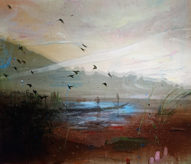 Stunning paintings by   Elizabeth Magill   at the Ulster Museum, Belfast