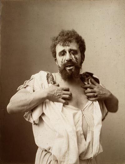 Louis Bouwmeester as Oedipus in a Dutch production (c.1896)