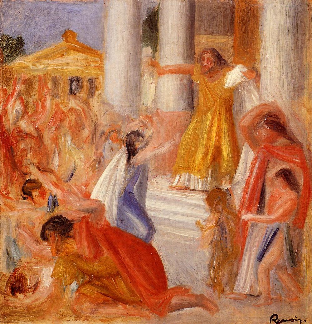 """Oedipus Rex"", Pierre-Auguste Renoir, 1895, Private Collection"