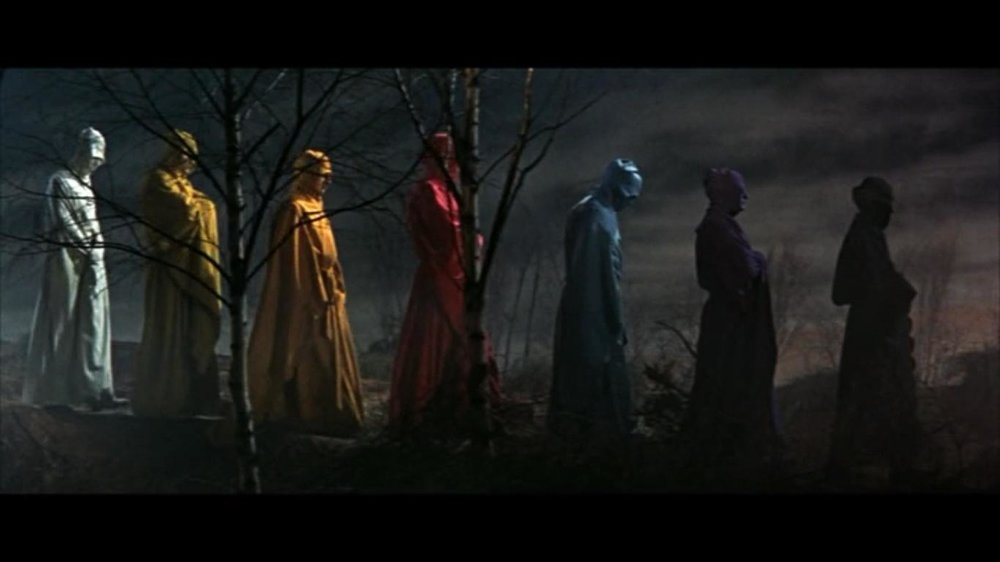 "Still from ""The Masque of the Red Death"" 1964 film."