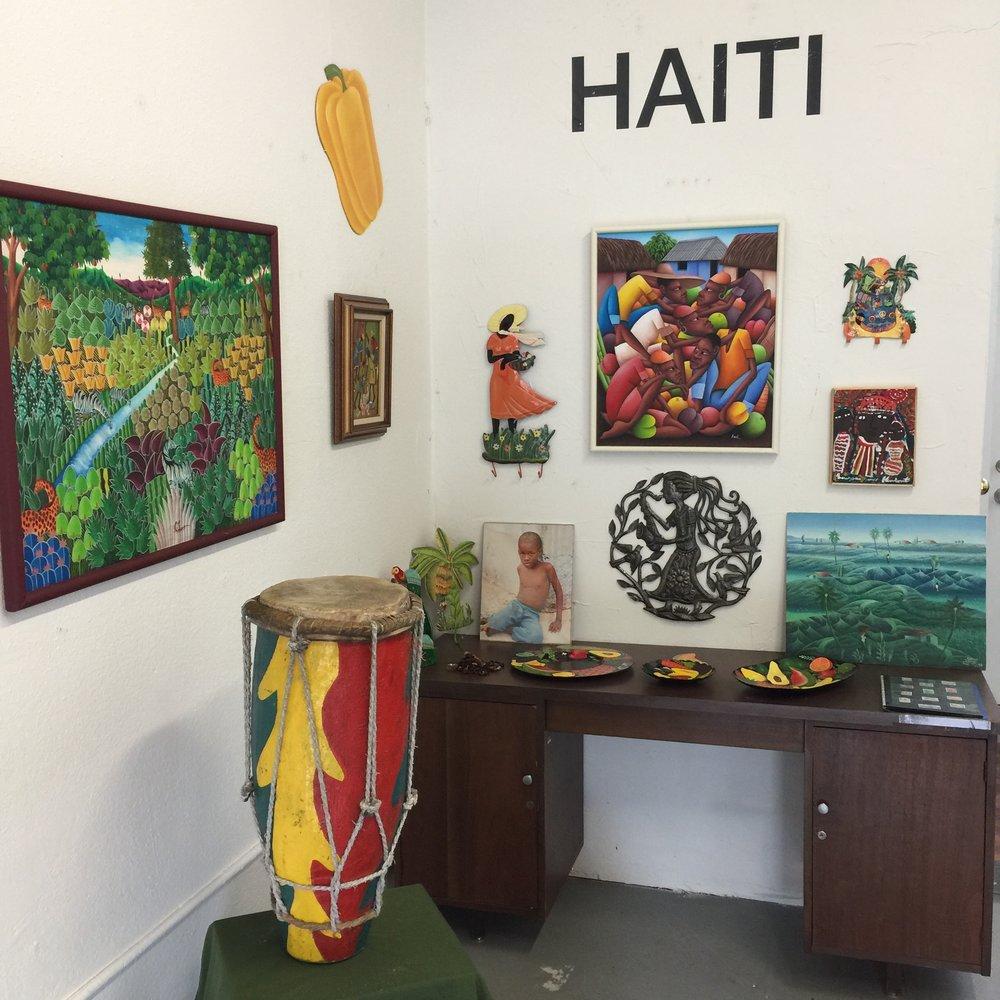 Haitian art exhibition