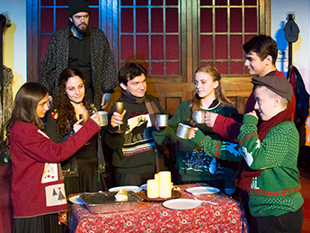 december 18–20, 2015  A Christmas Carol  By Charles Dickens Adapted by Ian Sullivan Directed by the Collective