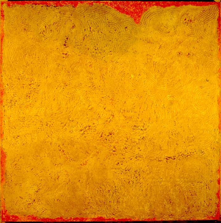 "Ariadene's Twine   Oil on Panel  60X60"", 152.4X152.4 cm"