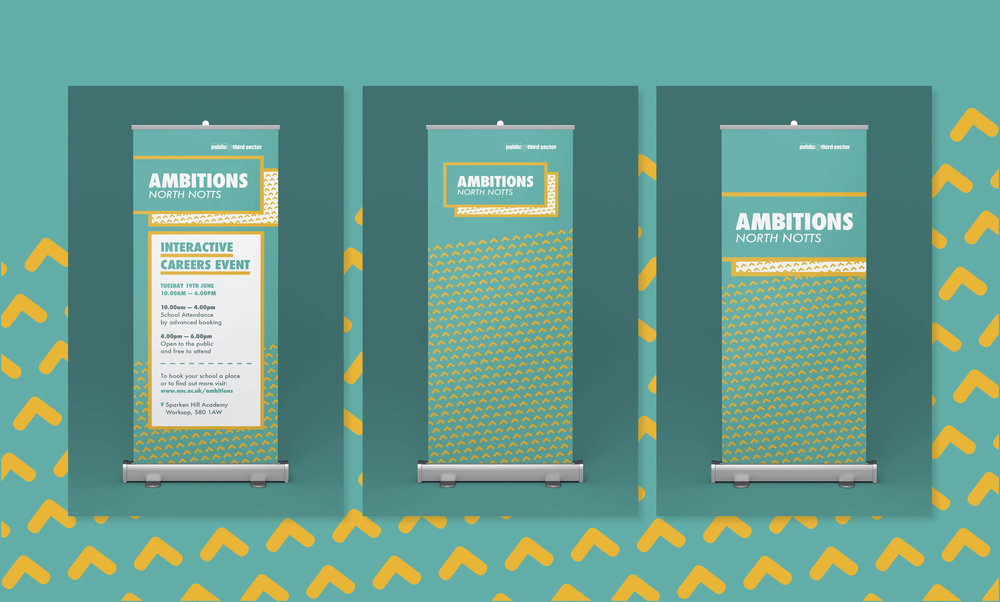 Event Banners - Graphic Design Sheffield