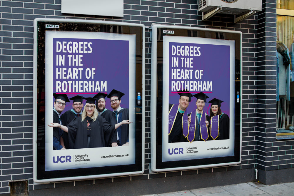 University Advertising Campaign - Graphic Design Sheffield