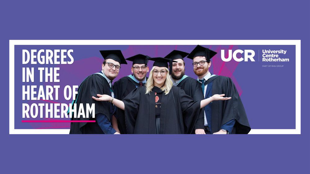 University Advertising Campaign - 72 Sheet - Graphic Design Sheffield