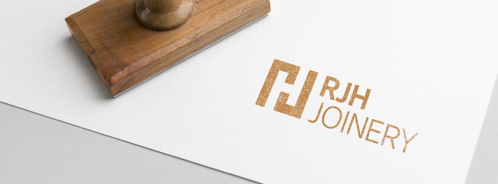 RJH Joinery - Logo Design - Branding Development - Graphic Design Sheffield