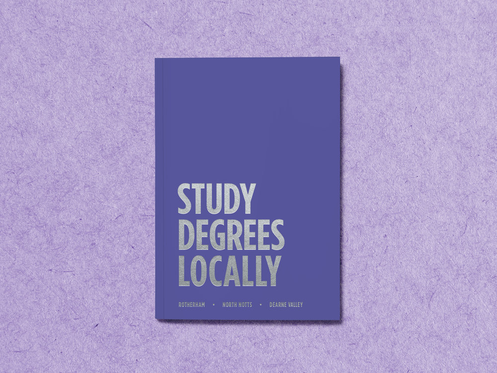 Prospectus Design - Cover Design - Graphic Design Sheffield