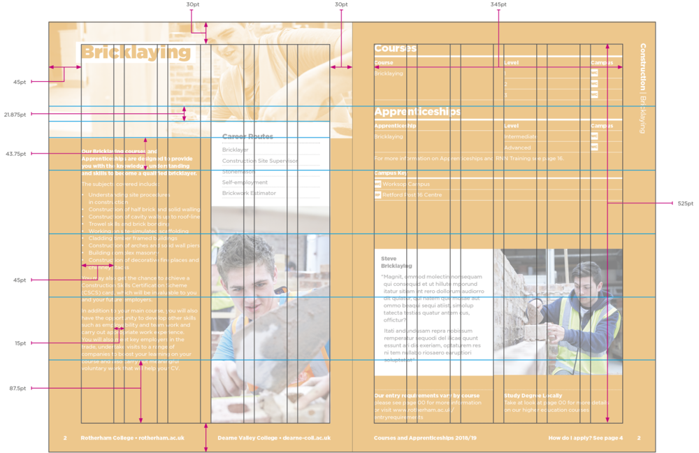 Course Guide Grid
