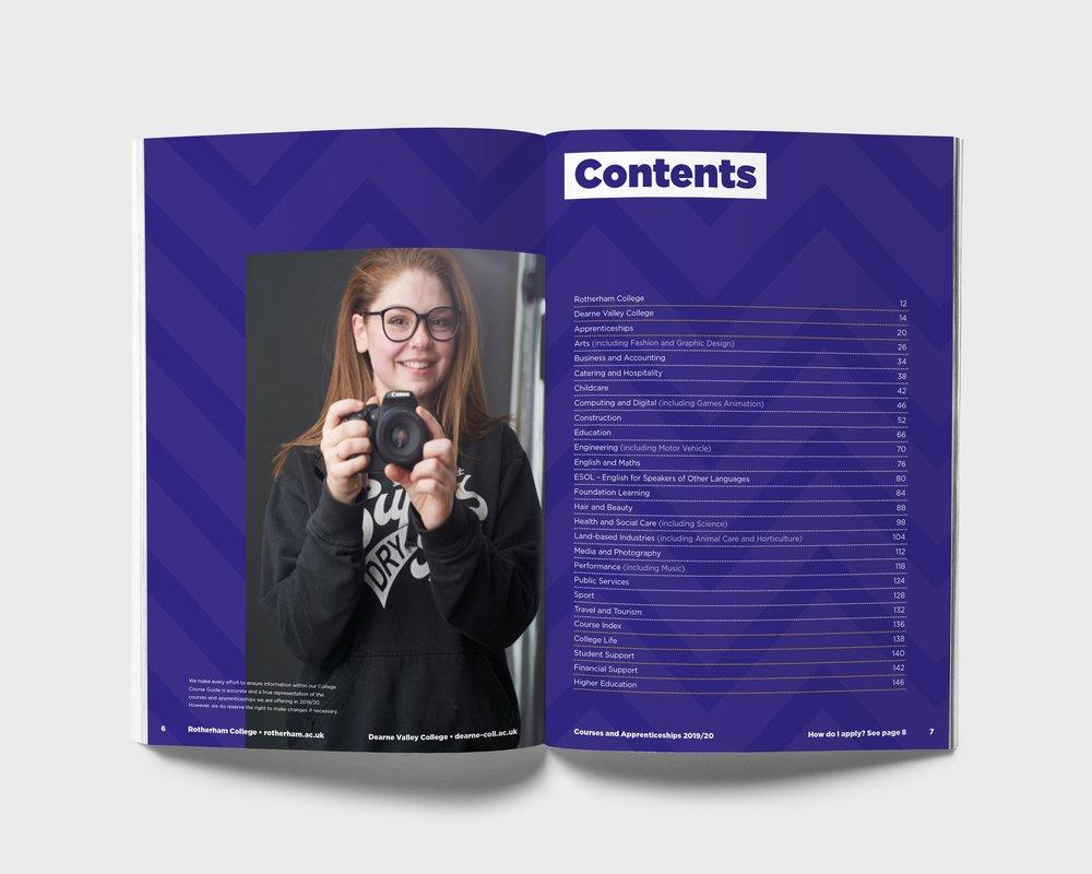 Course Guide Design
