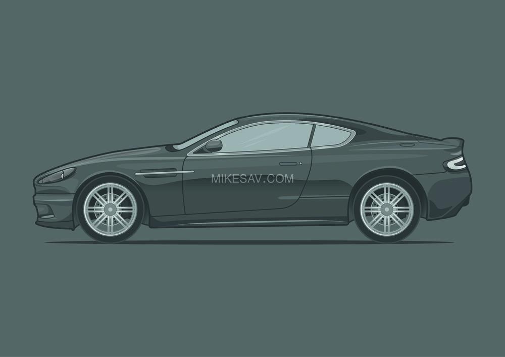 Aston Martin DBS / Casino Royale (2006) / Director: Martin Campbell