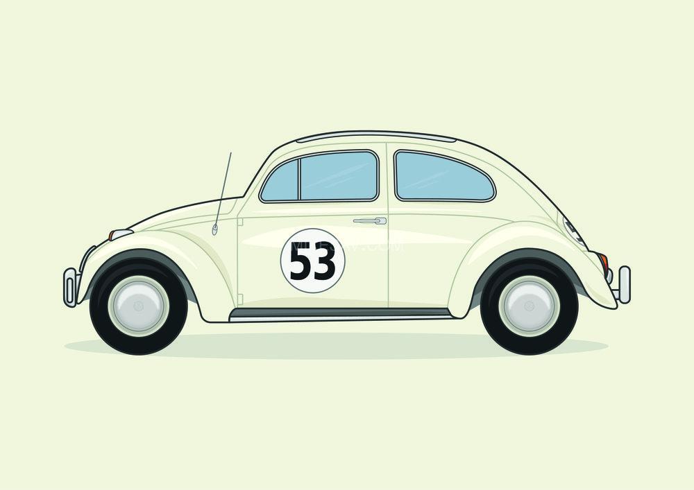 Volkswagen Beetle / The Love Bug (1968) / Director: Robert Stevenson