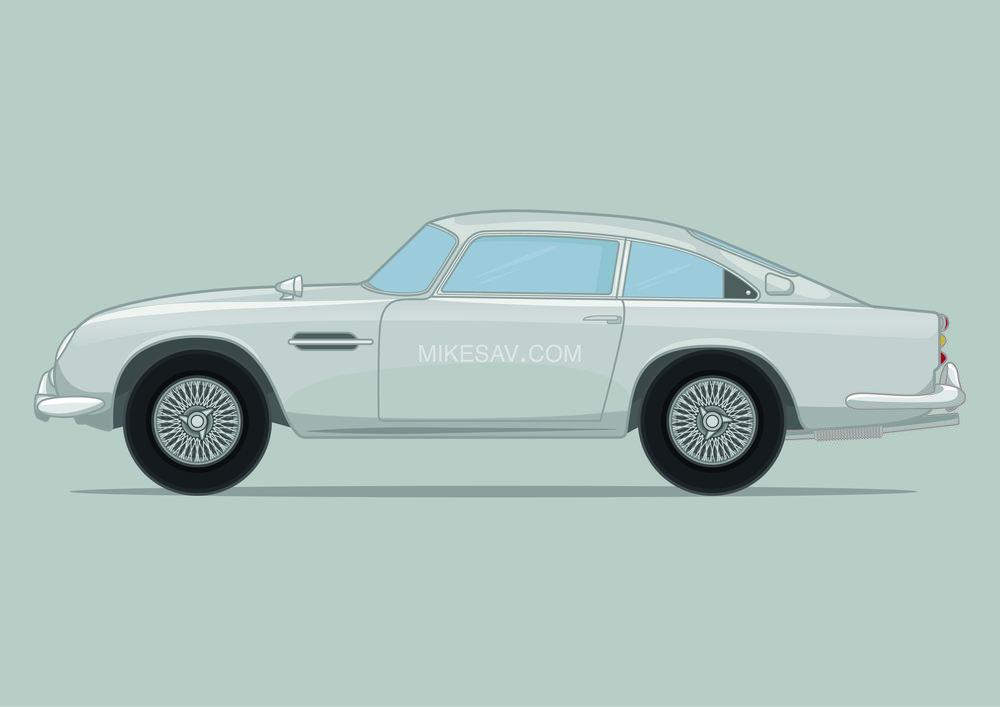 Aston Martin DB5 / Goldfinger (1964) / Director: Guy Hamilton
