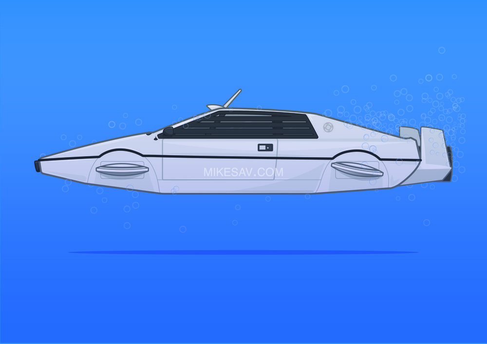 Lotus Esprit Submarine / The Spy Who Loved Me (1977) / Director: Lewis Gilbert