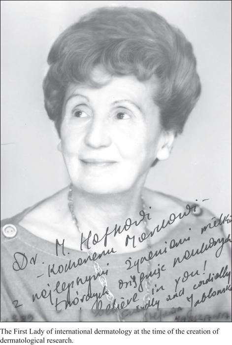 Marek Haftek,  Stefania (Stephanie) Jablonska 1923-2017 Professor of Dermatology, Warsaw Medical University, Poland Emeritus board member,  European Journal of Dermatology , Volume 27, July-August 2017