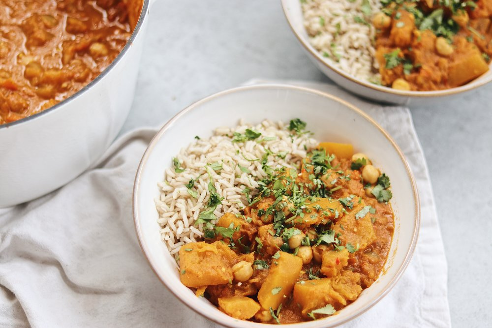 A warming seasonal curry perfect for the colder months. - prep time 20 mins total time 1 hour serves 6