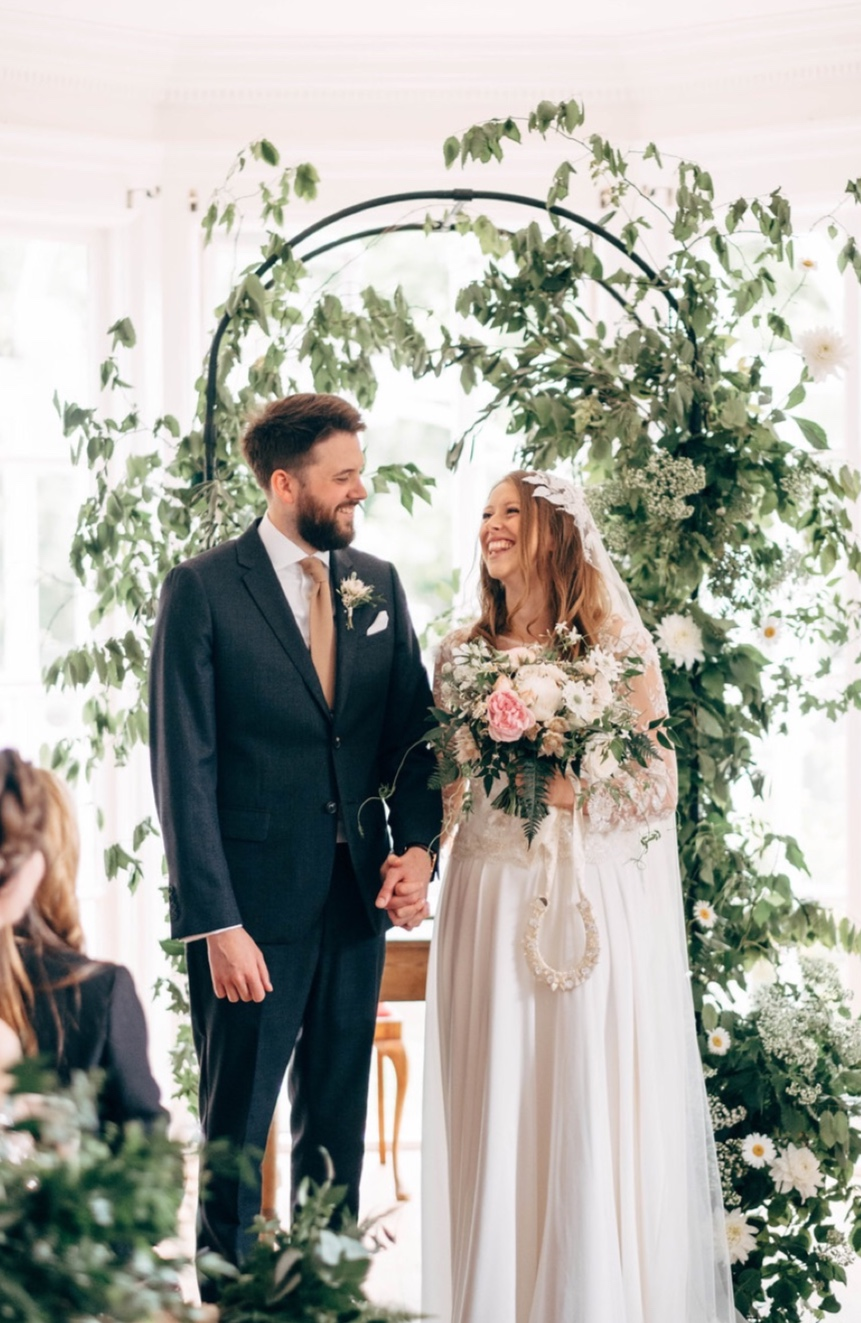 Alice and Chris… - Barley Wood House, Bristol