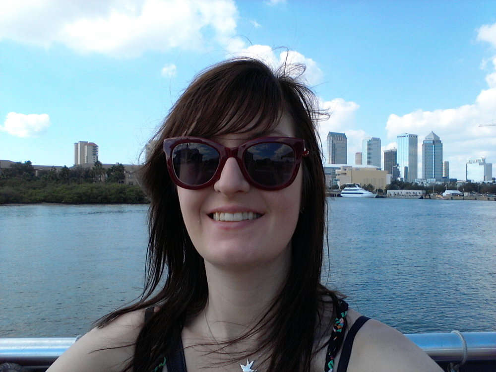 i HAD A LOT OF FUN LOOKING FOR DOLPHINS ON THE HILLSBOROUGH RIVER