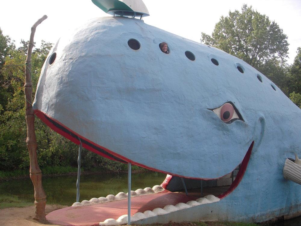 Vicki Graves at Tulsa Blue Whale.jpg