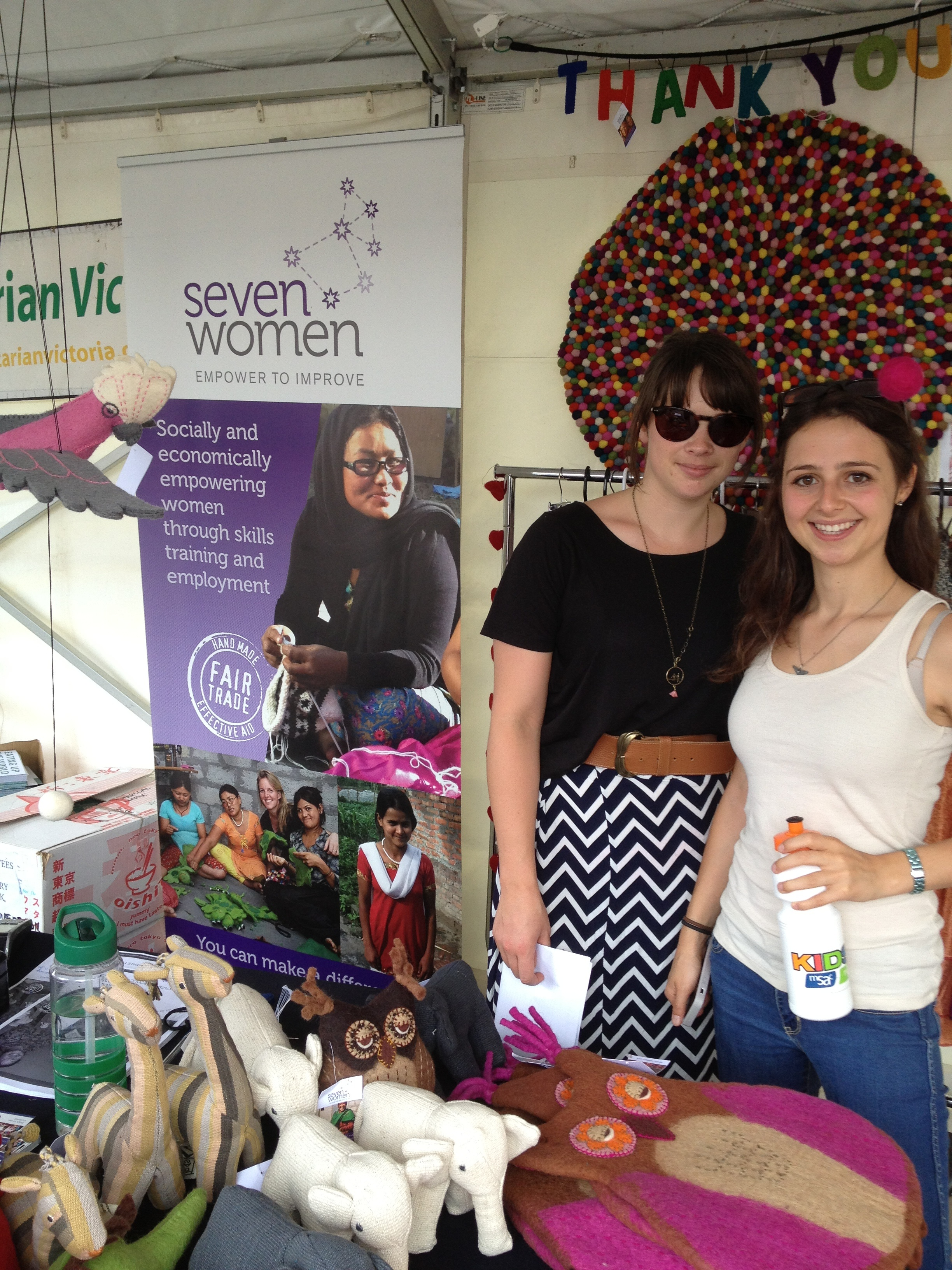 Seven Women at Sustainable Living Festival 2104