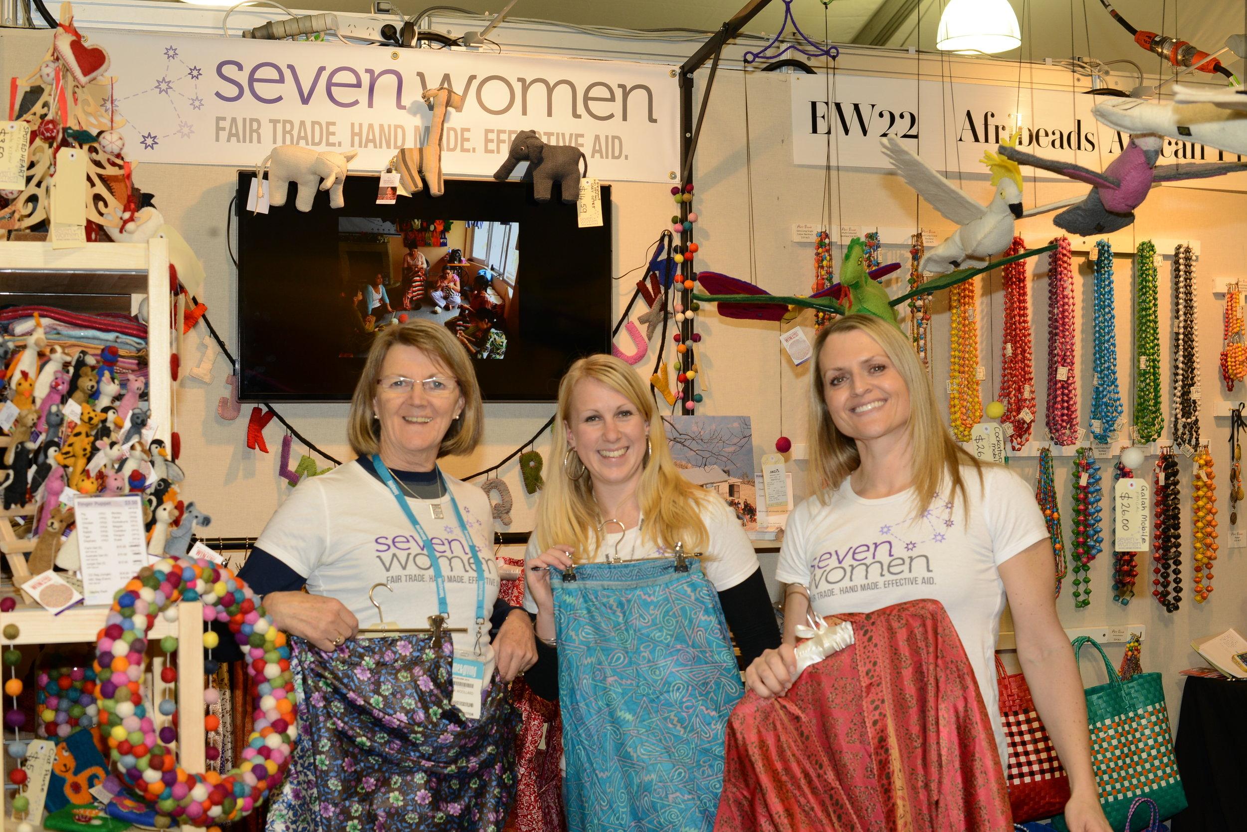 Seven Women at AGHA trade fair