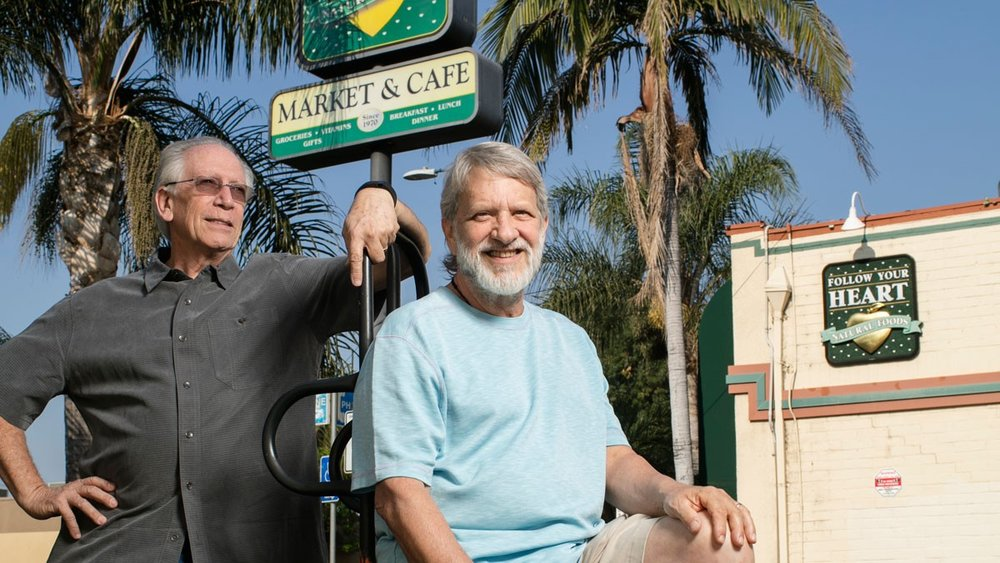 Bob Goldberg and Paul Lewin, the co-founders of Follow Your Heart. Robert Gallagher for Forbes