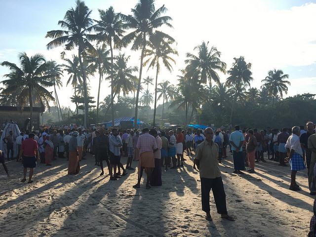 The fish market on the coast of Kerala, India. Photo by Larissa Zimberoff