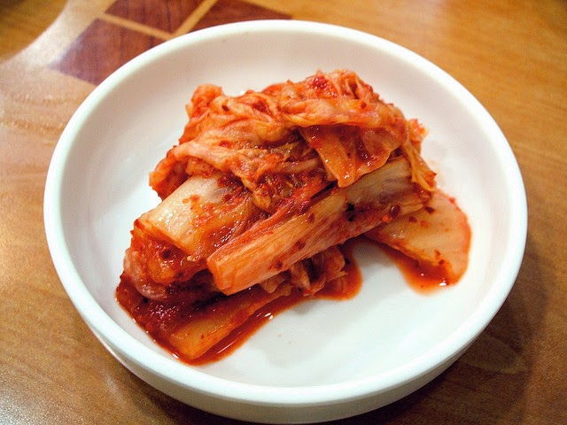In my book, this is how red kimchi should appear. Photo by Buck82/Flickr .