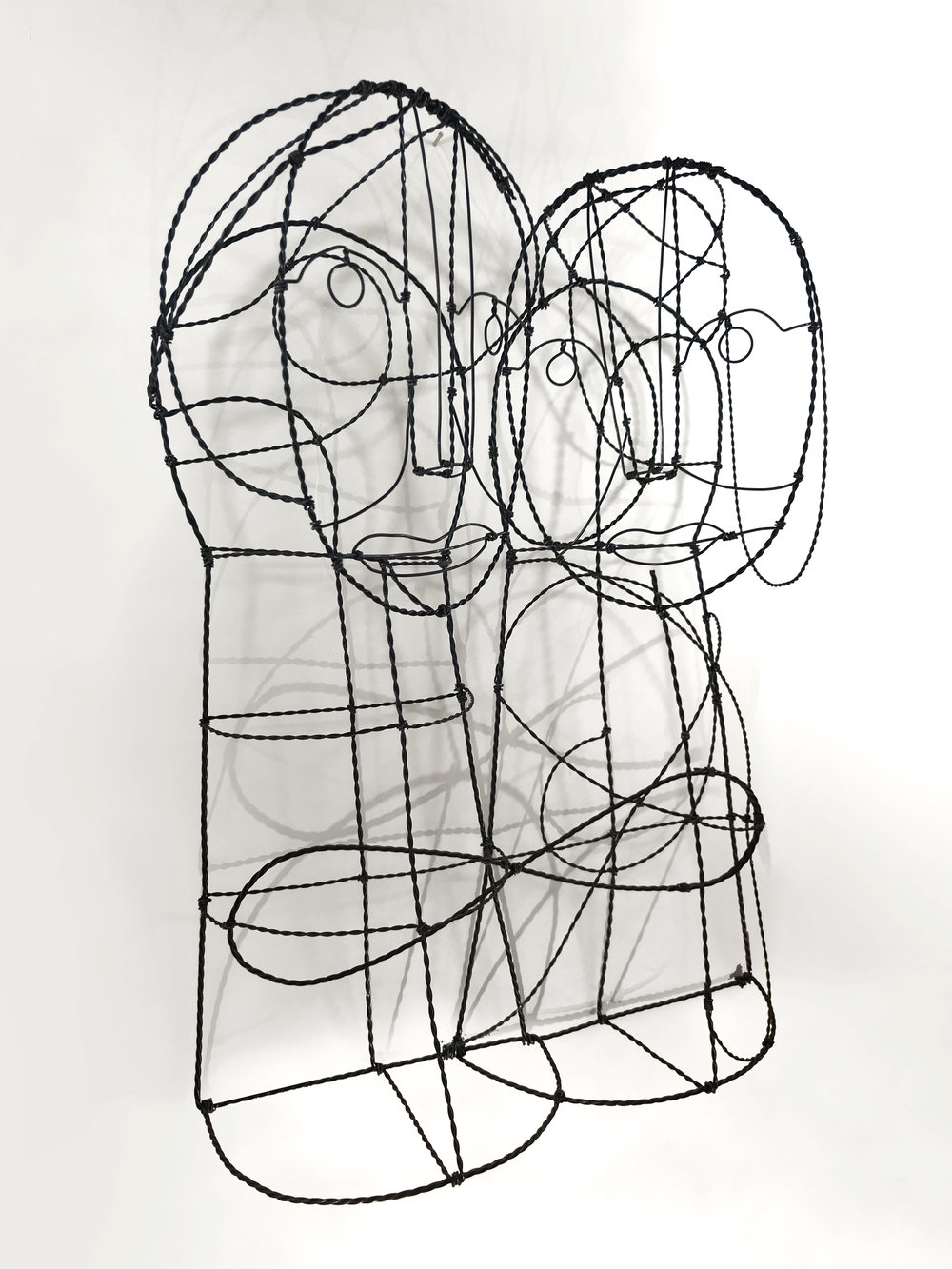 Sacred Geometry Couple | Carbon Steel Wire