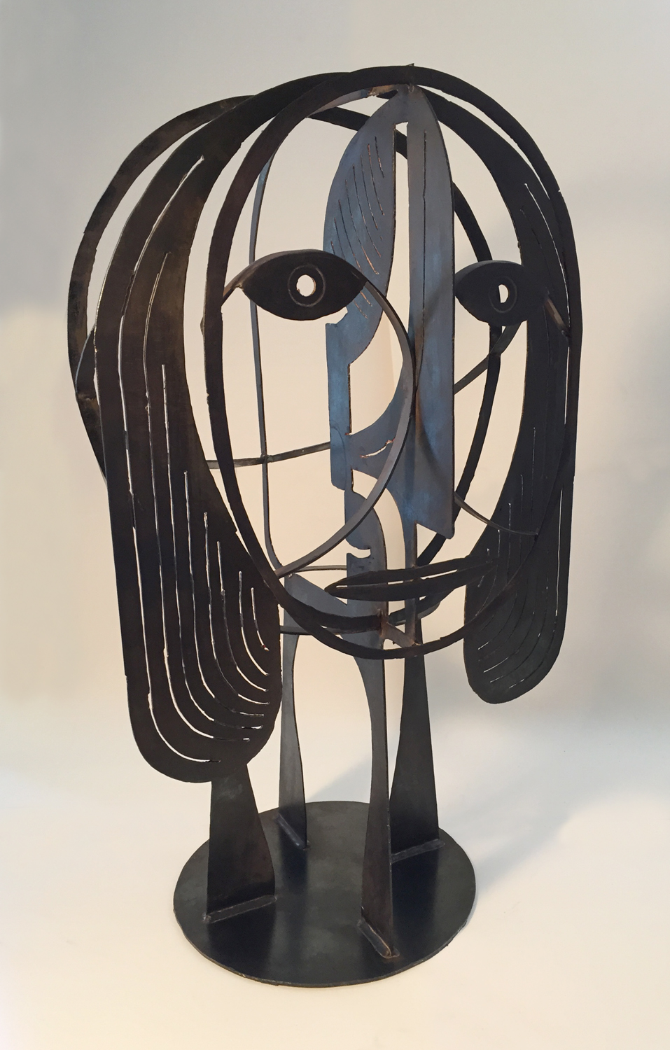 Woman No. 309 | Plasma Cut Steel and Welding