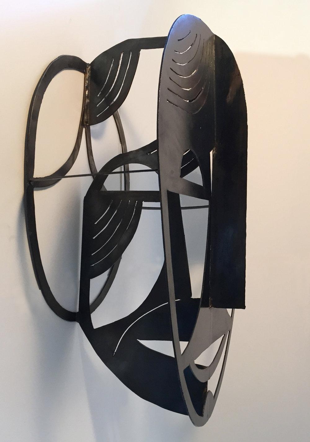 Joyful Face | Plasma Cut Steel and Welding