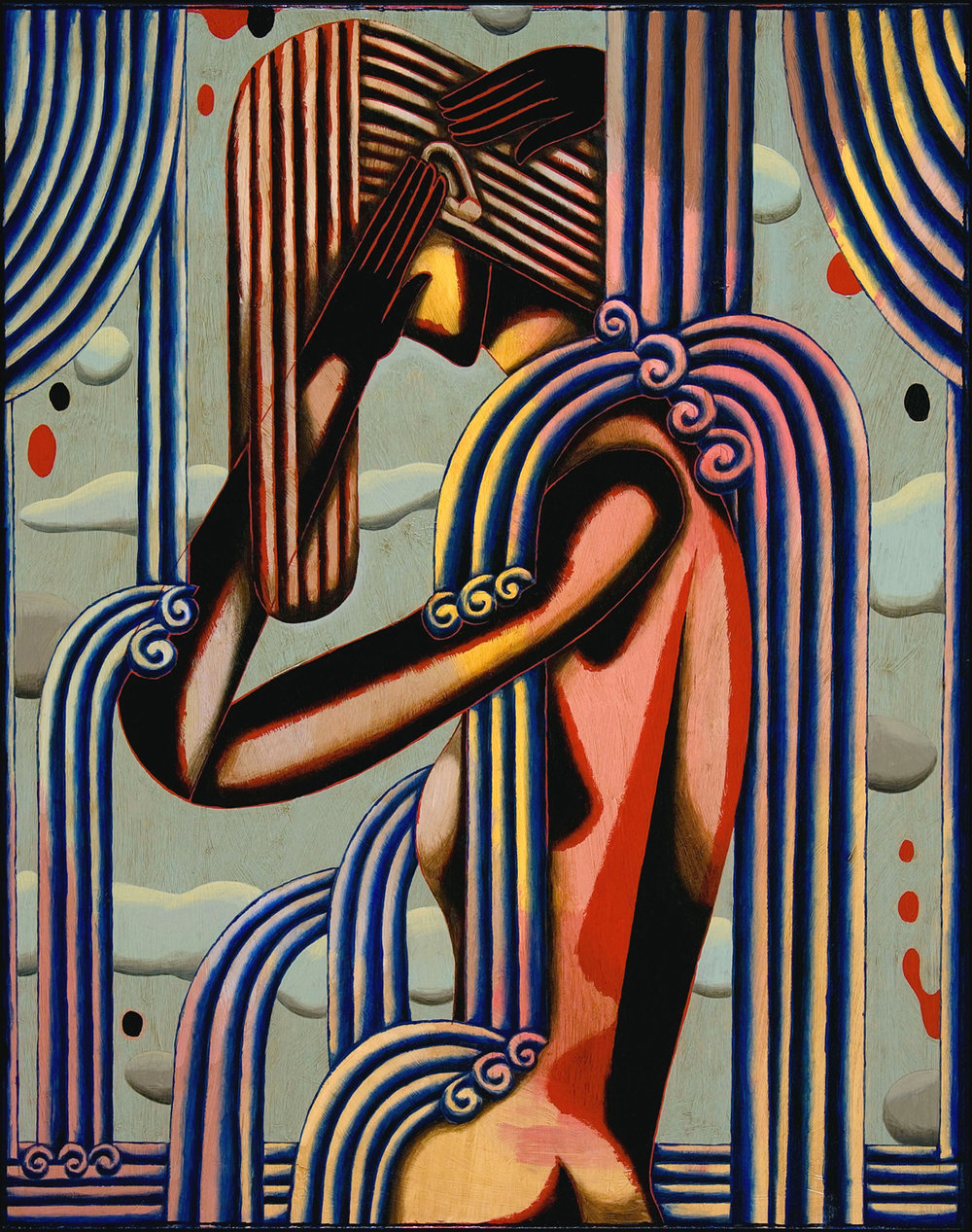 Woman No. 73| oil on Birch Panel