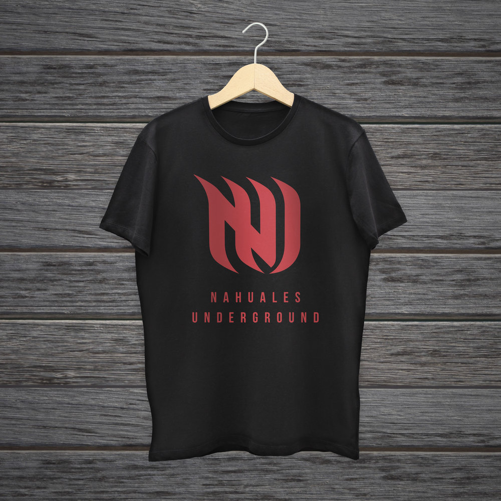 - Nahuales Underground logo t-shirt. What are you waiting for and buy one!