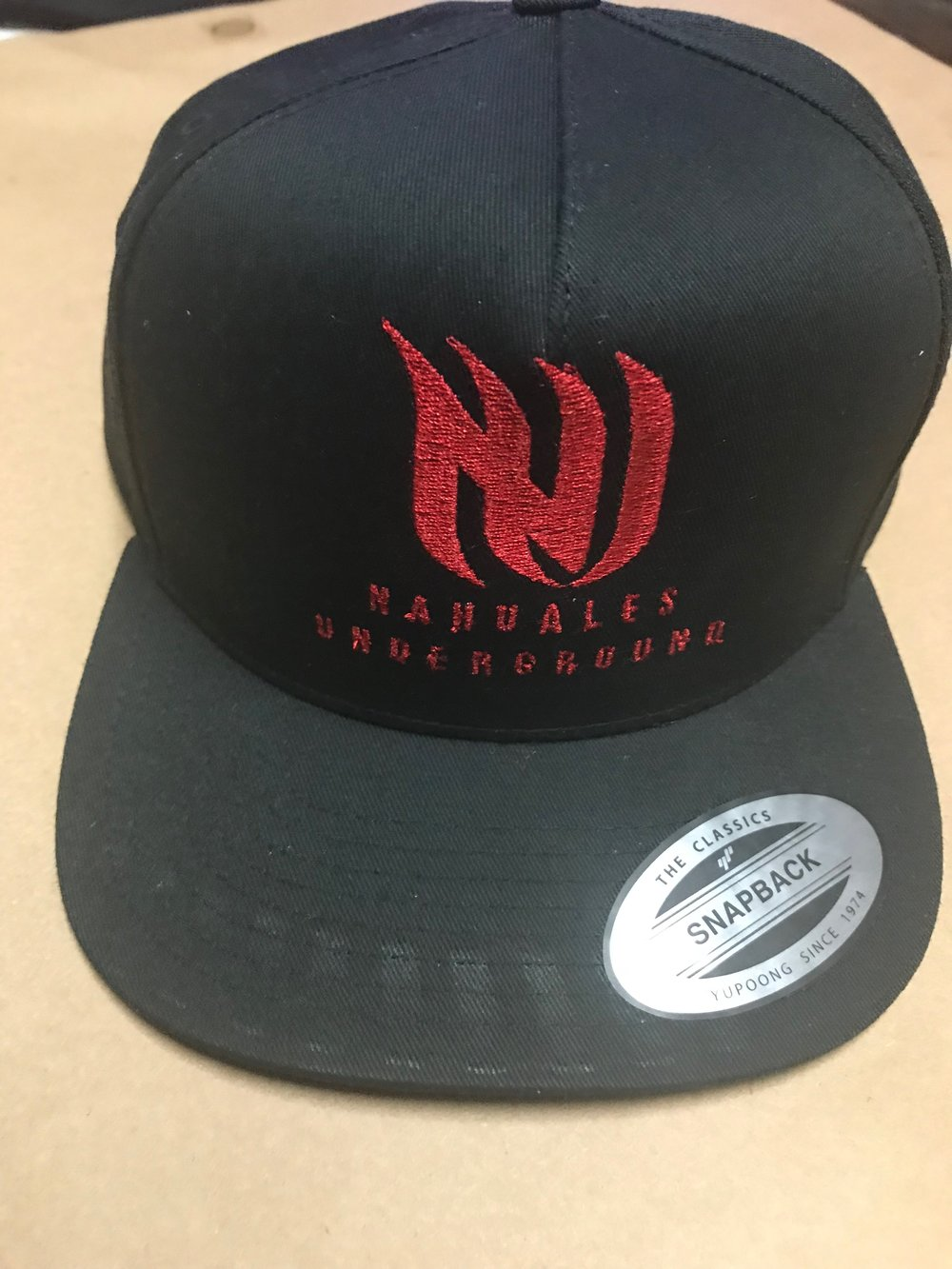 Nahuales Underground Hat - If you are interested to buy one just send us a message here in our website or facebook.The hat cost $25 dollars.